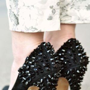 Sam Edelman Velvet studded heels